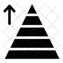 Triangular Pyramid Chart Icon