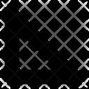 Triangular Ruler Icon