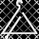 Triangulum Music Instrument Icon