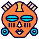 Tribal mask Icon