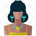 Tribal woman Icon