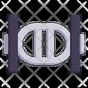 Triceps Bar Equipment Bar Icon