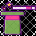 Trick Magic Magician Icon