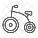Tricycle Bicycle Baby Icon