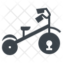 Tricycle Bike Wheels Icon
