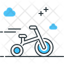 Tricycle Bicycle Cycle Icon