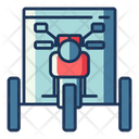 Tricycle Bike Motorcycle Icon