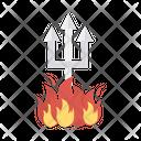 Trident Neptune Devil Icon