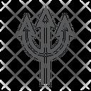 Trident Spear Devil Icon