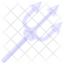 Trident Tool Trishul Poseidon Icon