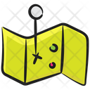 Trifold Map Icon