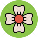 Trifoliolate Flower Heart Icon