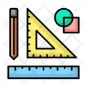 Trigonometry Geometry Drawing Icon