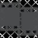 Cut Clip Cutted Maltimedia Clip Cutted Media Clip Icon