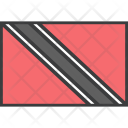 Trinidad Tobago Country Icon