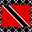 Trinidad And Tobago Flag Flags Icon
