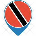 Trinidad Tobago Flag Icon