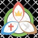 Trinity Christian Symbols Icon