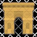 Triomph Arc Architecture Icon
