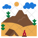 Trip Camping Vacation Icon