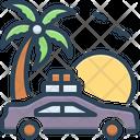 Trip Promenade Excursion Icon