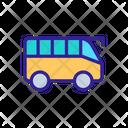 Tourist Travel Bus Icon