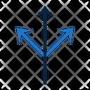 Threearrows Triple Arrows Icon