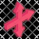 Triple Arrows Icon