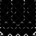 Triple Door Cupboard Icon
