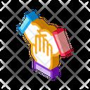 Triple Handshake Collaboration Icon