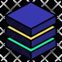 Stack Triple Cut Icon