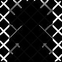 Triple Arrow Up Arrow Prev Icon