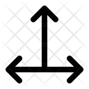 Triple Arrow Direction Icon