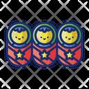 Triplets Icon