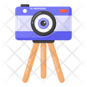 Camera Stand Tripod Photography Stand Icon
