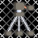 Tripod Camera Video Icon