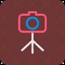 Tripod Camera Photography Icon
