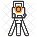 Tripod Engineer Construction Icon