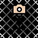 Tripod Camera Capture Icon