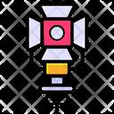 Tripod Lamp Icon