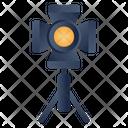 Studio Light Film Light Tripod Light Icon