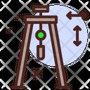 Tripod Stand Icon