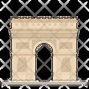 Triumphal Arch Paris Icon