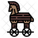 Horse Trojan Ancient Icon