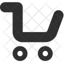 Trolley Cart Delivery Icon