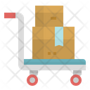 Trolley Delivery Transport Icon