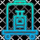 Luggage Service Room Service Luagge Icon