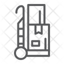 Trolley Cargo Package Icon