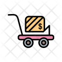 Trolley Shopping Delivery Icon