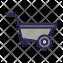 Trolley Farm Cart Icon
